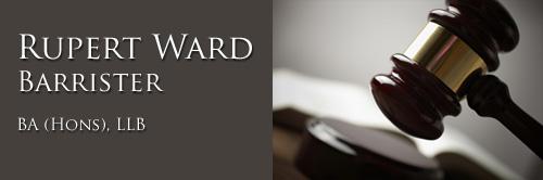 Rupert Ward, Barrister